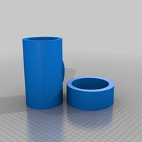 Small cheaper coffee canister 3D Printing 14322