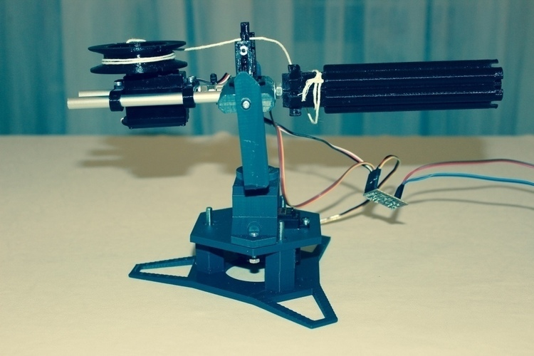 Rubber bands sentry gun 3D Print 143231