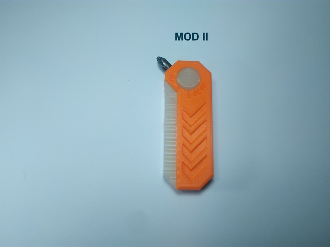 Alpha Penguin Screwdriver 3D Print 143255