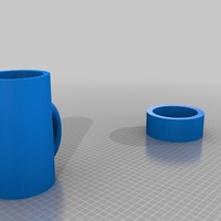 Small coffee canister more useable 3D Printing 14328