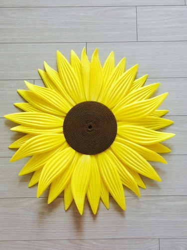 clock-sunflower 3D Print 143321