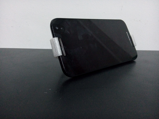 Moto G3 - Mobile Stand 3D Print 143379
