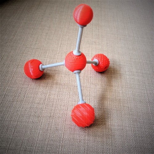 Tactile Chemistry learning atoms 3D Print 143418
