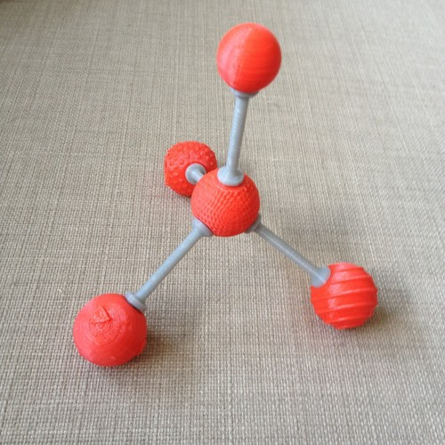 Tactile Chemistry learning atoms 3D Print 143419