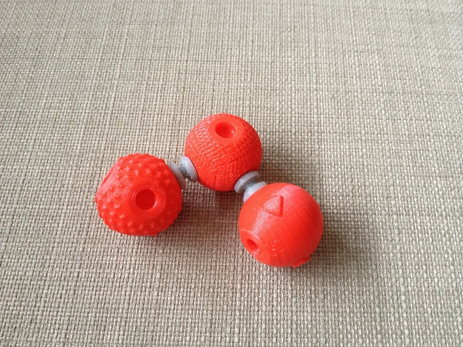 Tactile Chemistry learning atoms 3D Print 143425