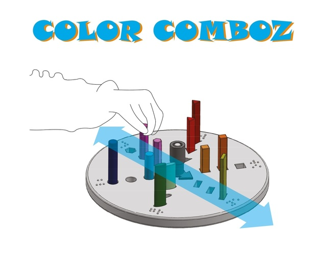Color Comboz 3D Print 143486