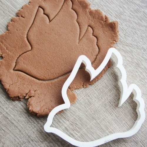 Bird of happiness cookie cutter for professional 3D Print 143582