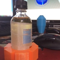 Small 120ml Bottle Holder 3D Printing 143738