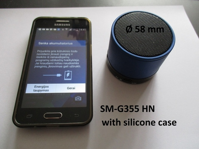 2 in 1 phone (Samsung SM-G355HN) and bluetooth speaker holder 3D Print 143802