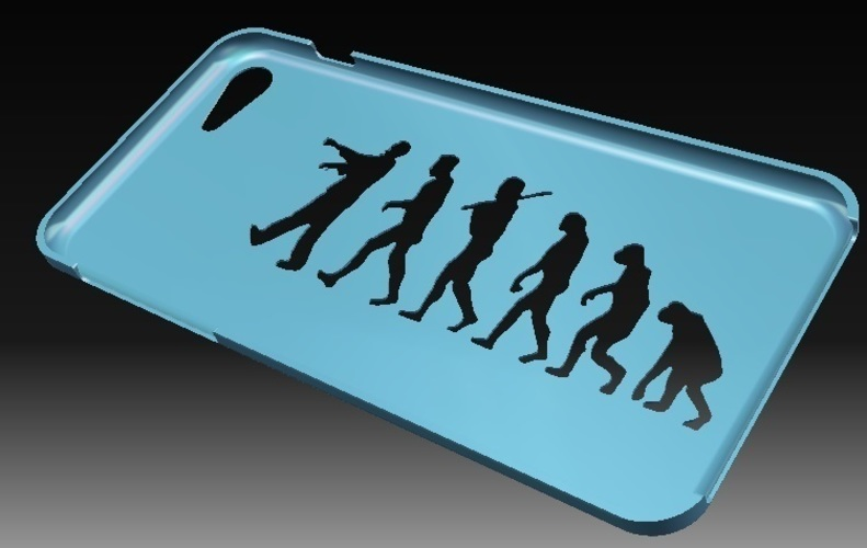 iPhone7S Evolution Case 3D Print 143830