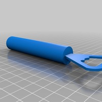 Small bottle opener 3D Printing 14385