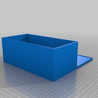 Small  8 cm high box  3D Printing 14388