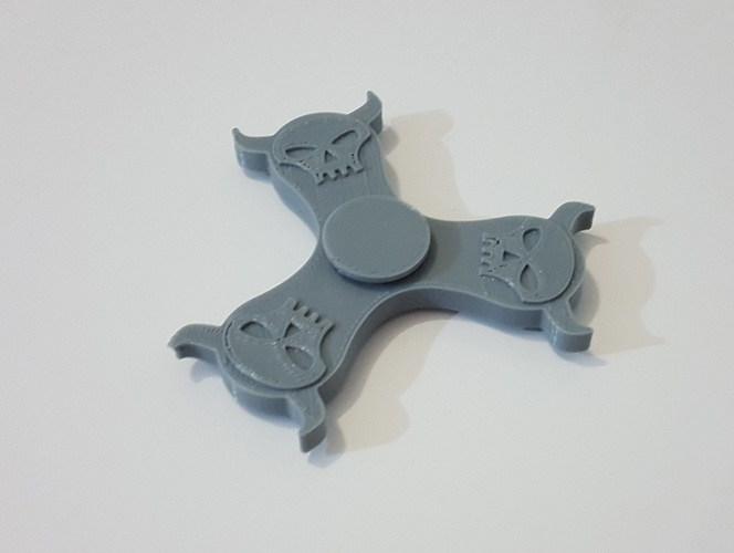 Mighty Skull Spinner 3D Print 143953