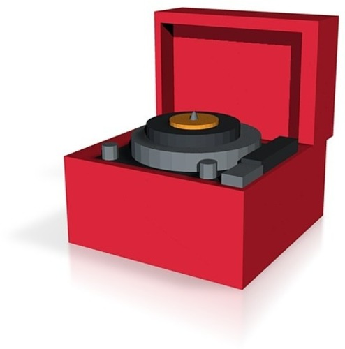 record player 3D Print 14400