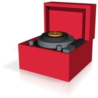 Small record player 3D Printing 14400