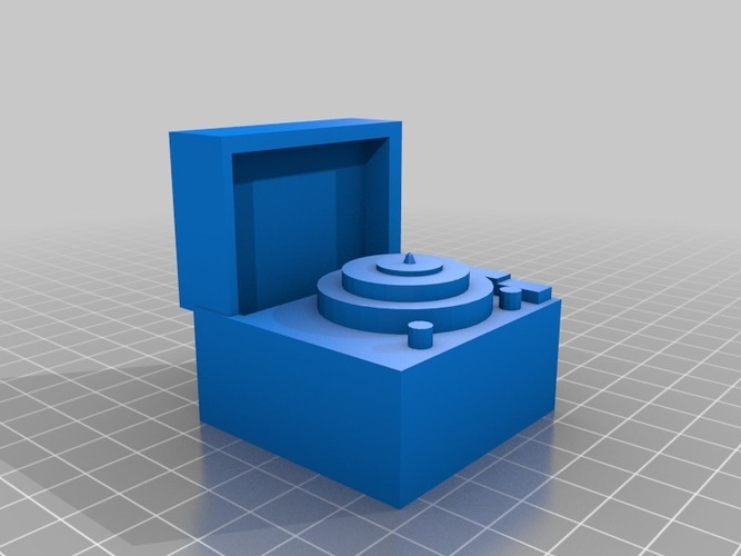 record player 3D Print 14401