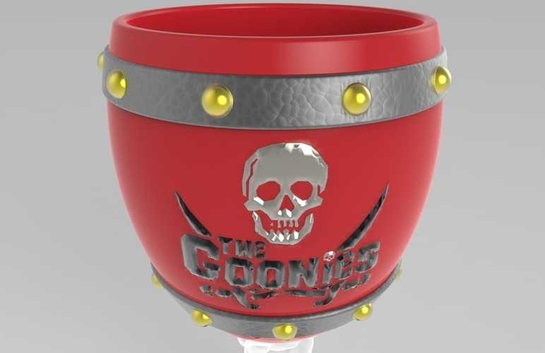 The Goonies Skeletal Hand Wine Goblet - 320ml 3D Print 144059