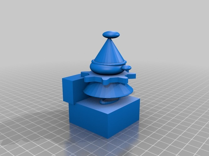 jack in the box 3D Print 14406