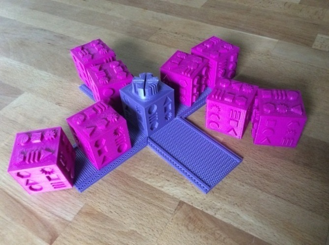 Touch Puzzle Blocks 3D Print 144127