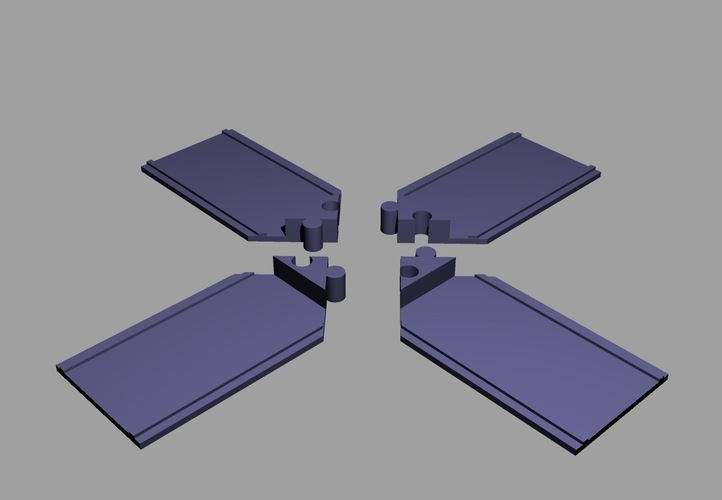 Touch Puzzle Blocks 3D Print 144130