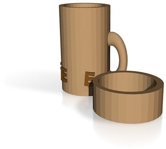 Coffee canister 3D Print 14417