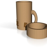 Small Coffee canister 3D Printing 14417