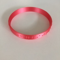 Small Braille Bracelet 3D Printing 144263