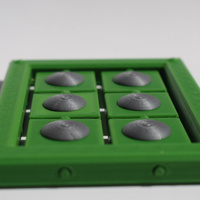 Small Braille cell - letter learning kit 3D Printing 144265