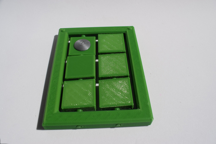 Braille cell - letter learning kit 3D Print 144273