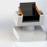 Small Captains Command Chair 3D Printing 144305