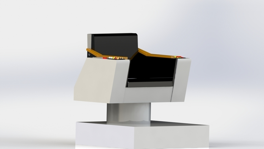 Captains Command Chair 3D Print 144308