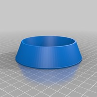 Small dog bowl blank 3D Printing 14435