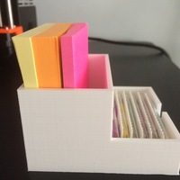 Small POST IT CASE 3D Printing 144369
