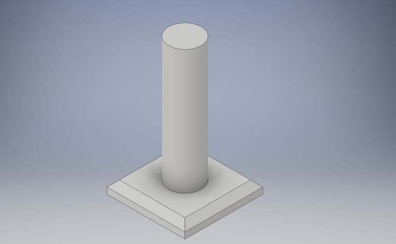 Candle with flame 3D Print 144407