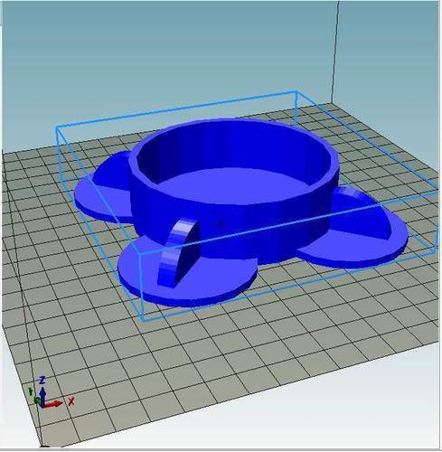 Tabletop Cup Holder Early Design 3D Print 144418