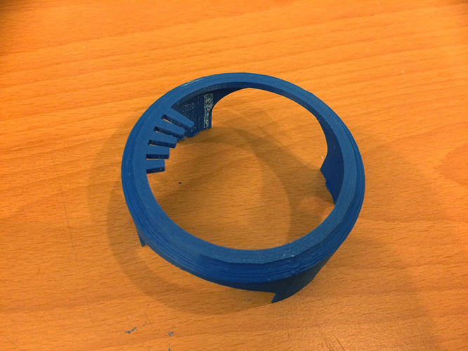Touchable Regulator of Coffee Roaster 3D Print 144545
