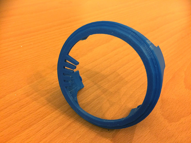 Touchable Regulator of Coffee Roaster 3D Print 144546