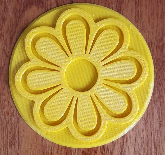 Flower Coasters for Mother's Day 3D Print 144623