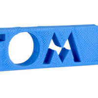 Small TOM personalised USB Case 3D Printing 144630