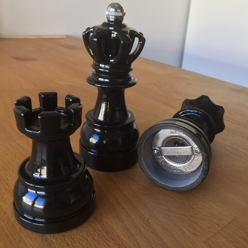 Chess Spice Grinder  3D Print 144644