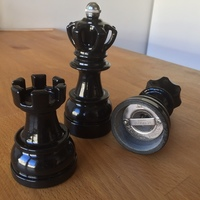 Small Chess Spice Grinder  3D Printing 144644