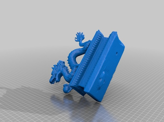dragon with pearl 3D Print 14466