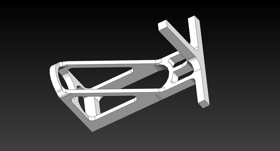PVC Parrot Perch Feed Dishes Brackets 3D Print 144672