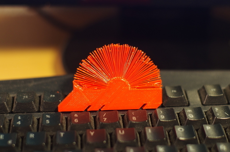 Hedgehog with spikes (furry) 3D Print 144695