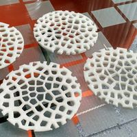 Small Voronoi Beverage Coasters 3D Printing 144697