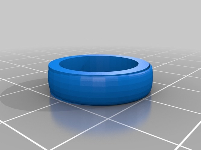 size 20x20 mm ring 3D Print 14470