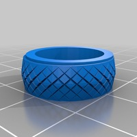 Small serpent ring 20x20 mm 3D Printing 14471