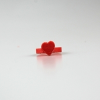 Small heart ring 3 3D Printing 14472