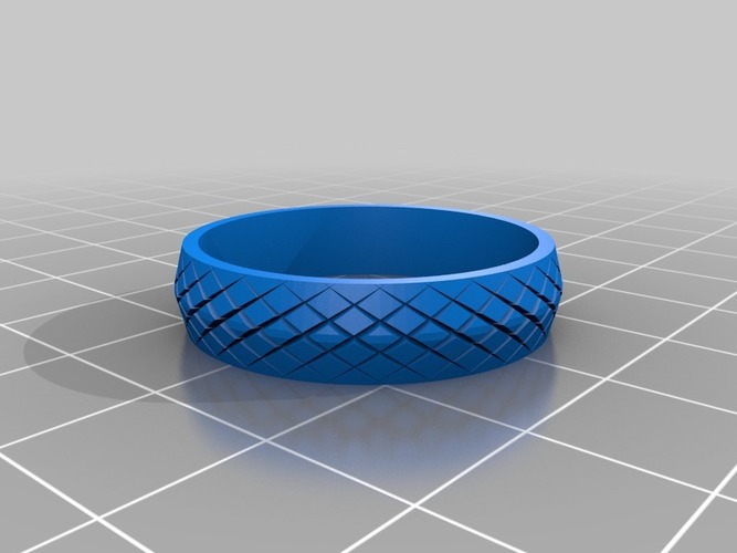 "My Customized ""Fidget"" Spinner Ring 3D Print 14481"