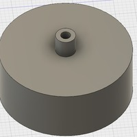 Small Nerf Flywheel 3D Printing 144829